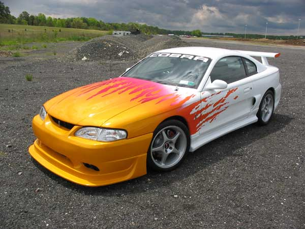 94 98 Mustang Cobra R Front Bumper Urethane Free Shipping 37