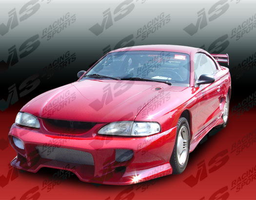 94-98 Mustang INVADER SHOGUN - Side Skirts - Passenger / Driver Side - (Fiberglass)