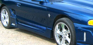 94-98 Mustang SPIDER X9 - Side Skirts - Passenger / Driver Side - (Urethane)
