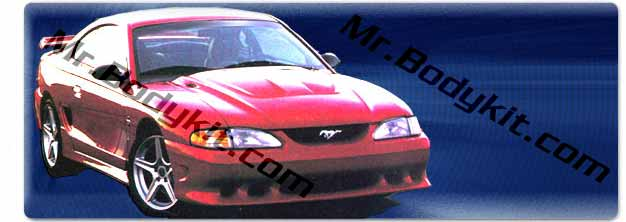 "94-98 Mustang STALKER STYLE ""S"" - Front Bumper - (Urethane)"