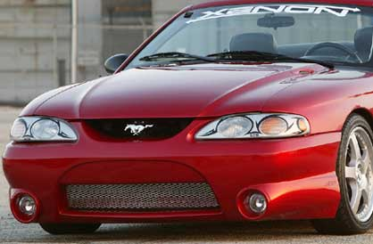 94-98 Mustang XENON STYLE 306 - Front Bumper - (Urethane)