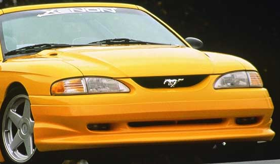 94-98 Mustang XENON ADD ON - Front Bumper - (Urethane)
