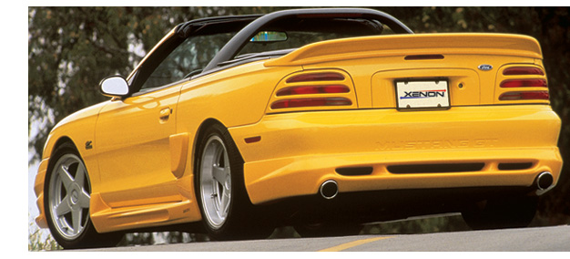 94-98 Mustang XENON ADD ON - 4PC - Body kit (Front + Rear + Sides) - Urethane
