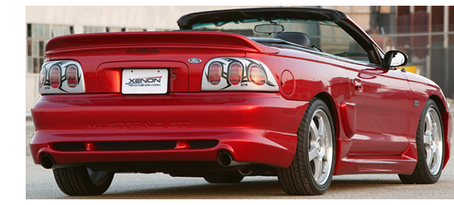 94-98 Mustang XENON ADD ON - Rear Bumper - (Urethane)