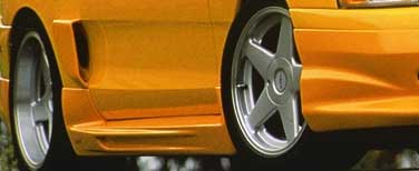 94-98 Mustang XENON ADD ON - Side Skirts - Passenger / Driver Side - (Urethane)