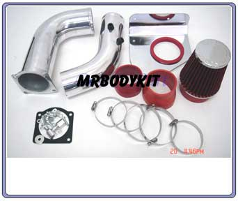 94-95 Mustang 3.8L V6 Intake Kit - Red