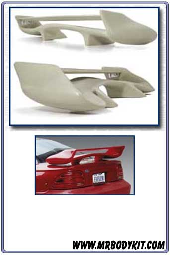 1994-1998 Mustang Universal Battle GTR Dual Wing (COMBAT WING)