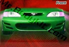 94-98 Mustang BIG MOUTH EXTREME - Front Bumper - (Fiberglass)