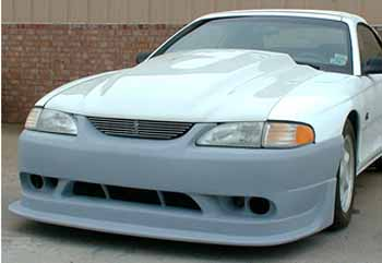94-98 Mustang COBRA R - 4PC - Body kit (Front + Rear + Sides) - Urethane FREE SHIPPING