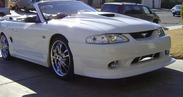 94-98 Mustang COBRA R - 4PC - Body kit (Front + Rear + Sides) - Fiberglass