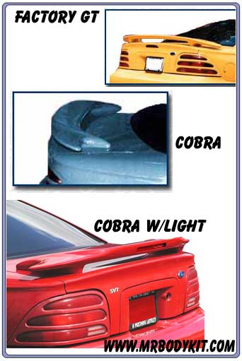 1994-1998 Mustang Factory GT / Cobra Wings