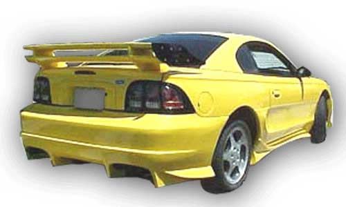 94-98 Mustang INVADER SHOGUN - 4PC - Body kit (Front + Rear + Sides) - Fiberglass