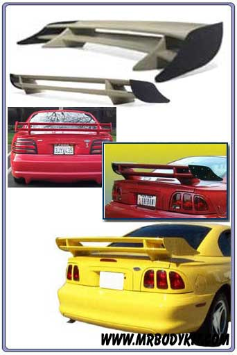 1994-1998 Mustang Double Stack S-Style Wing