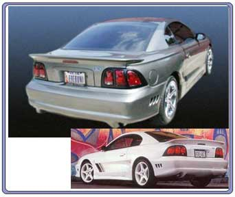 1994-1998 Mustang Saleen S281 Wing - URETHANE - BEST CHOICE
