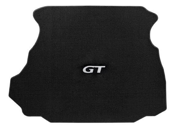 1994-1998 Mustang Convertible TRUNK Mats - Black (3 Emblem Options)