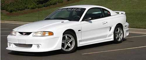 94-98 Mustang RAZZI - Front Bumper Add on - (ABS AERO-FLEX)