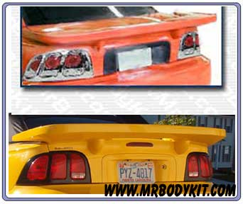 1994-1998 Mustang Spider X9 Wing