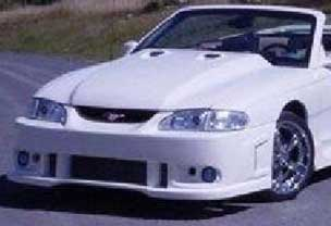 94-98 Mustang SPIDER X9 - Front Bumper - (Urethane)