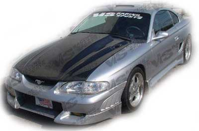 94-98 Mustang VIPER - 4PC - Body kit (Front + Rear + Sides) - Fiberglass