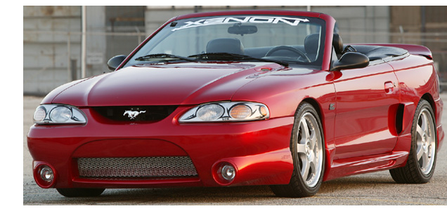 94-98 Mustang XENON STYLE 306 - 4PC - Body kit (Front + Rear + Sides) - Urethane