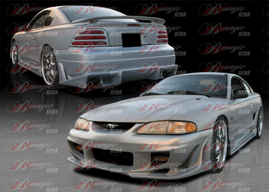 94-98 Mustang B MAGIC - 4PC - Body kit (Front + Rear + Sides) - Fiberglass