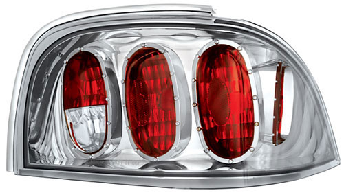 94-98 Mustang Taillights Gen 3 Style - Crystal Clear (Pair)