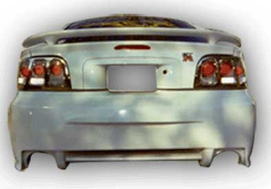 94-98 Mustang SPIDER X9 - Rear Bumper - (Urethane)