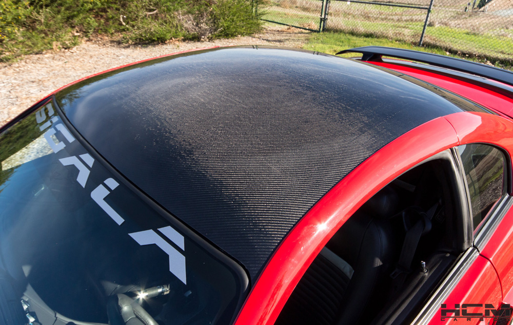 1994-2004 Mustang Carbon Fiber ROOF By HCM