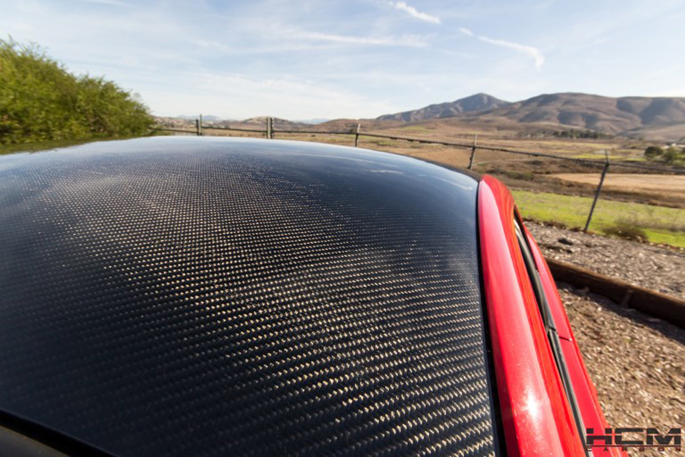 1994-2004 Mustang Carbon Fiber ROOF by HCM - CARBON FIBER