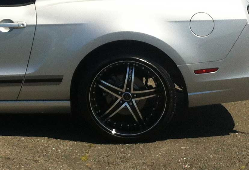 20 INCH Ruff Racing BLACK Rims R953 - 5 Lug 05-17 (sizes available 20x8.5, 20x10 & Staggered) - Package price for (4)
