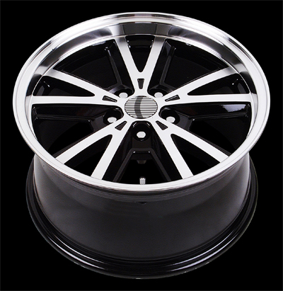 "V1137 - BLACK - 5 Lug 1994-2013 Mustang (sizes available 20"")"