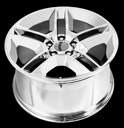 "V1161 - CHROME - 5 Lug 1994-2013 Mustang (sizes available 20"")"