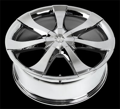 "V53 - DIMENSION - CHROME - 5 Lug 1994-2013 Mustang (sizes available 20"")"