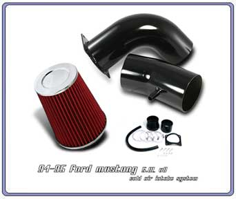 94-95 Mustang 5.0L V8 Intake Kit - Black