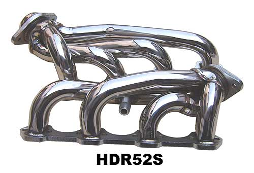 1994-1995 Mustang 5.0L Shorty Headers - Stainless - PYPES