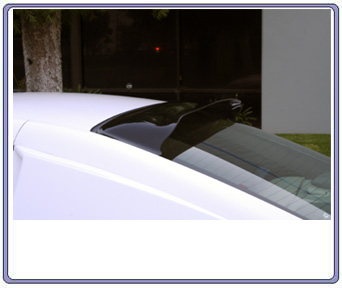1994-2004 GTS Stying SolarWing Rear Window Reflector