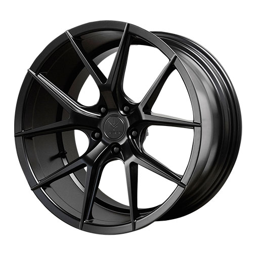 20 INCH AXIS V99 Rims SATIN BLACK - 5 Lug 94-04 (sizes available 20x9, 20x10.5 & Staggered) - Package price for (4)