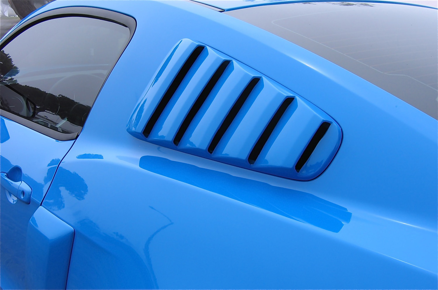 2010-13 Mustang V6 & GT Street Scene Upper Louvers (Paint Options)