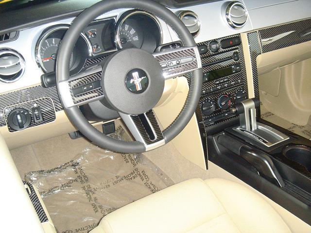 2001-2004 Mustang 15pc Interior Dash Trim Kit with ...