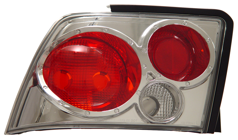 99-04 Mustang Taillights GEN 6 - CHROME (Pair)