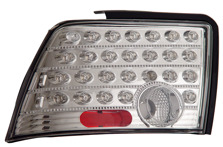 99-04 Mustang Taillights GEN 8 - CHROME (Pair)