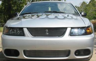 2003-2004 Mustang COBRA Upper & Lower Billet Grille COMBO