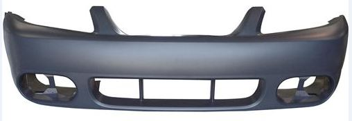 03-04 COBRA Style Mustang - Front Bumper- Fits Any 99-04 V6, GT or Cobra (Urethane)