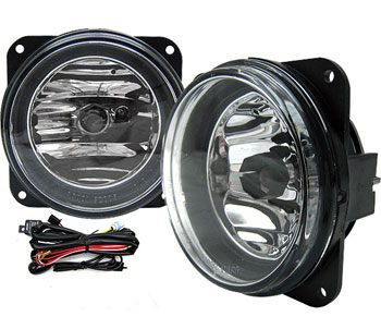 03-04 Mustang COBRA Ultra Fog Lights - Chrome Clear (Pair)