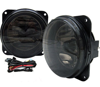 03-04 Mustang COBRA Ultra Fog Lights - Black Smoked (Pair)
