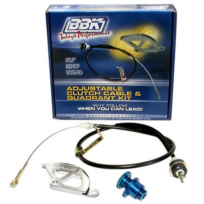 1996-04 Mustang BBK Adjustable Clutch Quadrant & Cable