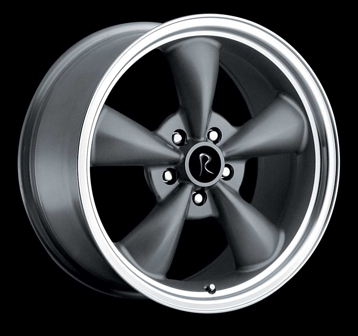 "BULLITT - CHARCOAL SILVER - 5 Lug 94-04 (sizes available 17"", 18"", 20"" & Staggered)"