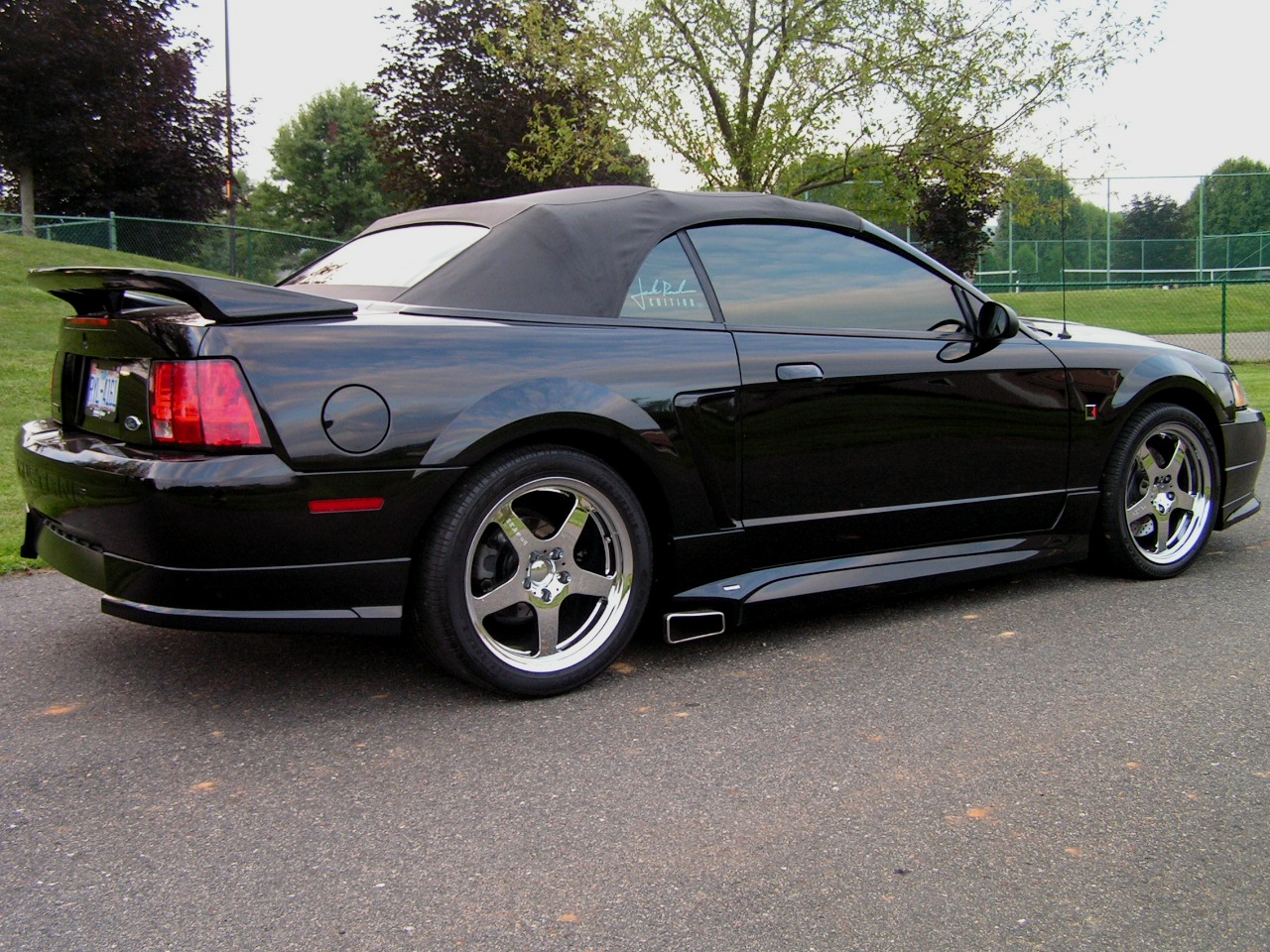 1999-2004 Mustang ROUSH 4 Post Wing