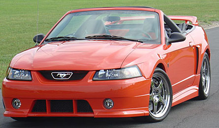 99-04 Mustang ROUSH STAGE 3 - Body kit - NO Wing (Front W/Fogs & Grilles + Rear + Sides) - Urethane