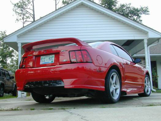99-04 Mustang ROUSH STAGE 3 - Body kit with Wing (Front W/Fogs & Grilles + Rear + Sides) - Urethane